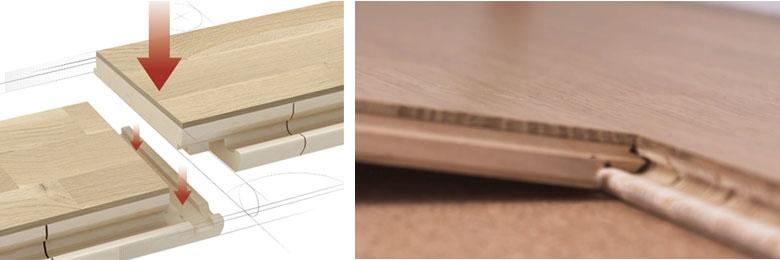 帕克个性三拼地板表面工艺及防水性